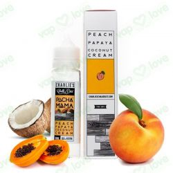Peach, Papaya, Coconut Cream - 50ml 0mg- Charlie's Chalk Dust - Pachamama
