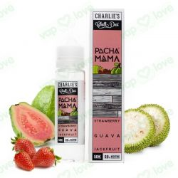 PACHAMAMA STRAWBERRY GUAVA JACKFRUIT 0MG 50ML BOOSTER