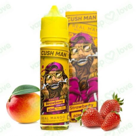 Cush Man Strawberry 50ml 0mg - Nasty Juice