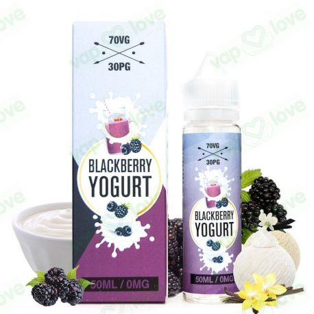 Blackberry Yogurt 50ml 0mg - Elda