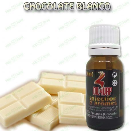 AROMA CHOCOLATE BLANCO 10ML - OIL4VAP