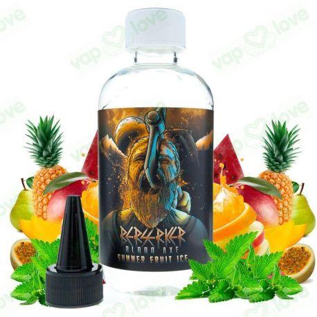 Summer Fruit Ice 200ml 0mg - Berserker Blood Axe by Joe's Juice