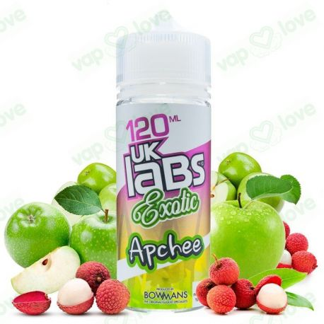 Apchee 100ml 0mg - UK Labs Exotic