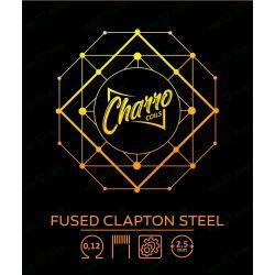 Fused Clapton Steel 0.12 - Charro Coils