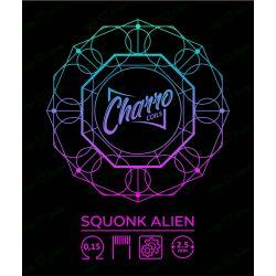 SQUONK ALIEN 0.15 - Charro Coils