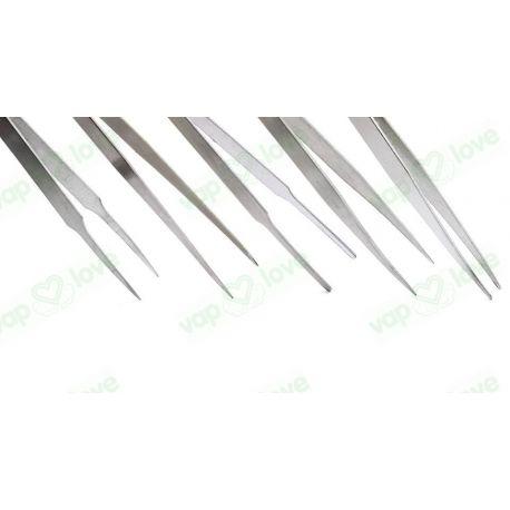 Pinzas Acero Inox. 5 Set