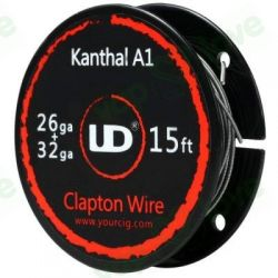 5m UD Clapton Coil (Kanthal 0.40 26AWG)
