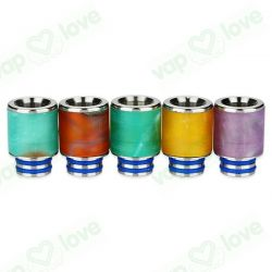 Artic Dolphin Resin Drip Tip