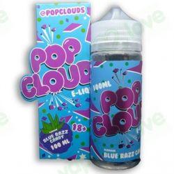 POP CLOUDS BLUE RAZZ 100ML 0MG