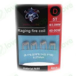 Raging Fire Ni80 0.27ohm - Demon Killer