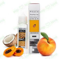 Peach, Papaya, Coconut Cream - 50ml 0mg- Charlie's Chalk Dust - Pachamama